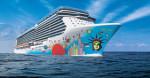 Ship breakaway wth hull artwork