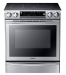 Samsung ne58f9710ws:aa slide in electric range with flex duo oven