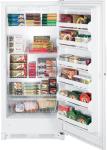 Ge fuf21svrww upright freezer