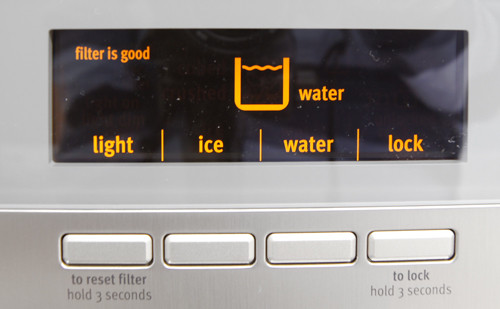 Water/Ice Dispenser Controls Photo