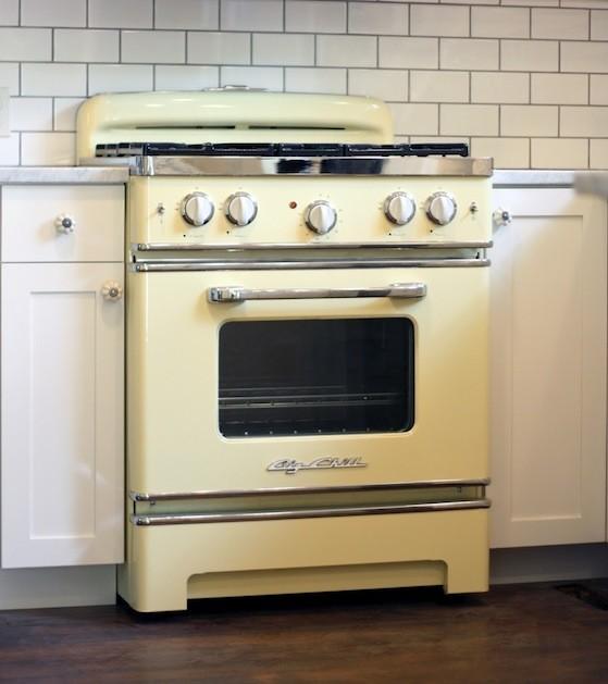 yellow oven
