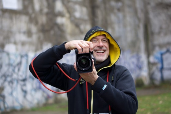 Laughing Photographer