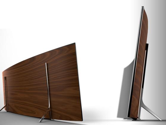 Samsung UHD ultrawide TV