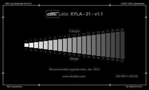With the Xyla-21 we are able to get a complete picture of a camera's dynamic range capabilities from a single photo.