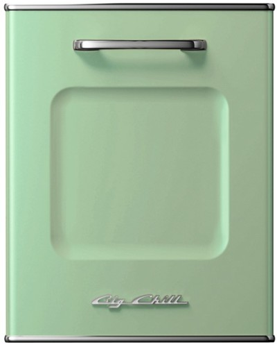 green dishwasher