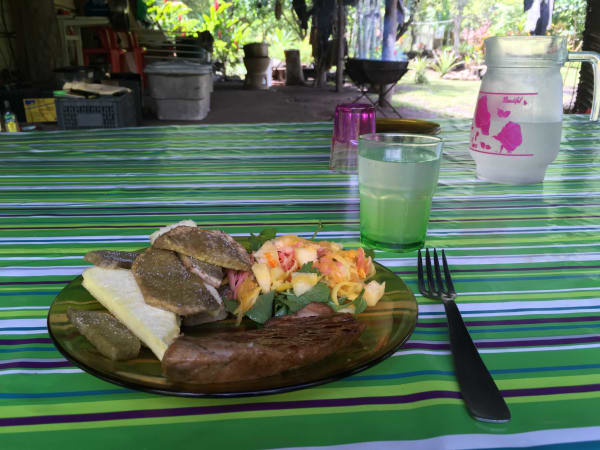Kua's lunch