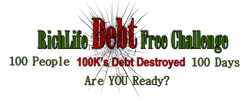 PRESS RELEASE: RichLife Advisors Announce The 100 Day Debt Free Challenge Is Now Open For Enrollment