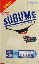 Chocolate Sublime Sonrisa Blanco Nestle Display 12x40g