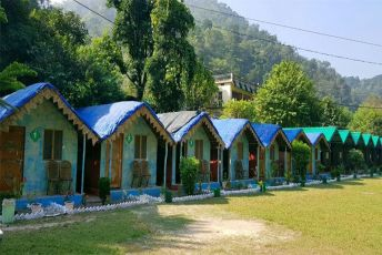 Luxury Camp Stay + Rafting (16km)