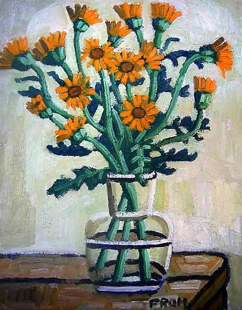 Flowers, 2011, oil on linen, 41x33cm