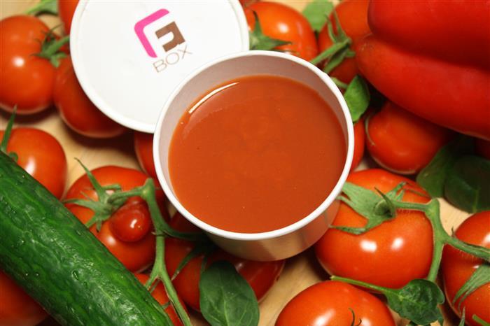 Glacé de tomates Andalous