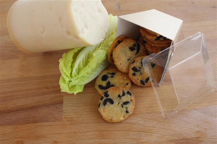 Cookies aux olives et parmesan