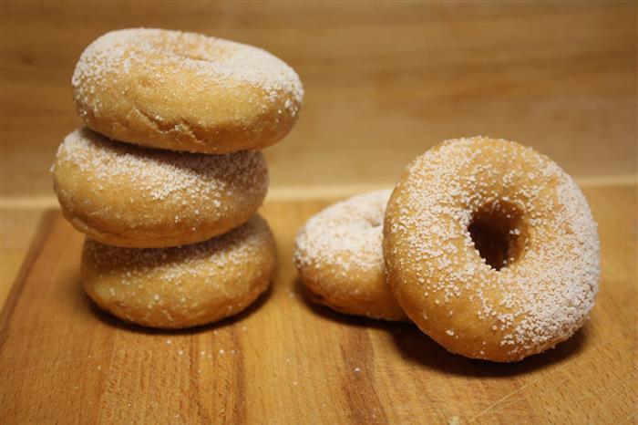 Mini donut's au sucre