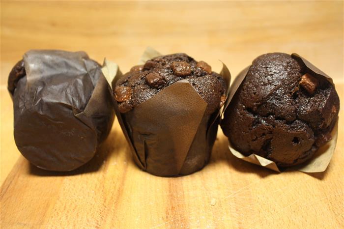 Muffin gourmand au chocolat
