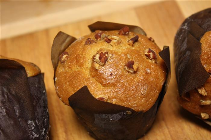 Muffin gourmand caramel