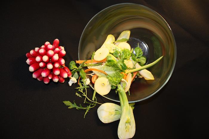 La courgette (riche en vitamines et minéraux)
