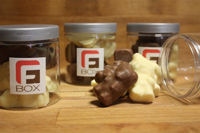Petit pot de Nounours au chocolat