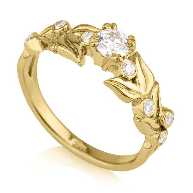 טבעת אירוסין מודל איה