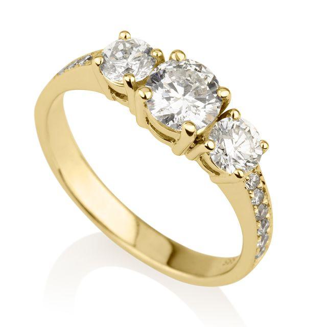 טבעת אירוסין מודל ג'וזפין