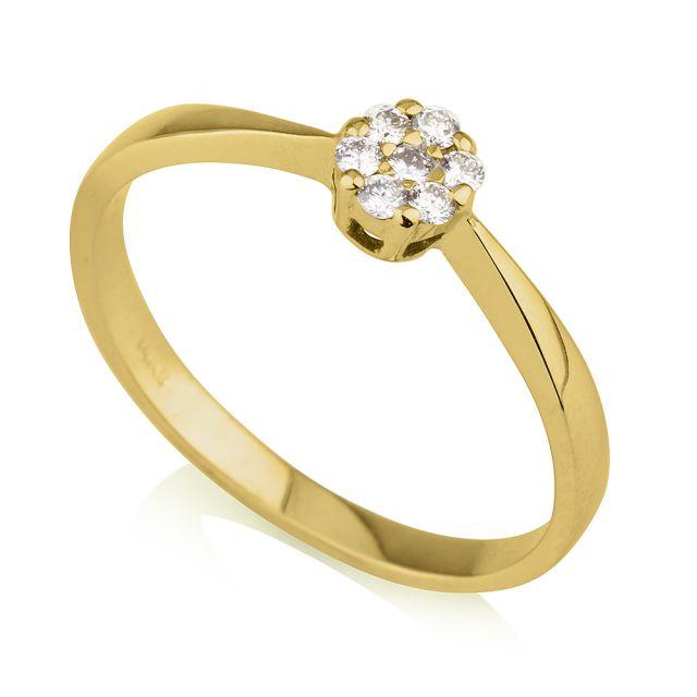 טבעת אירוסין דגם ג'יזל