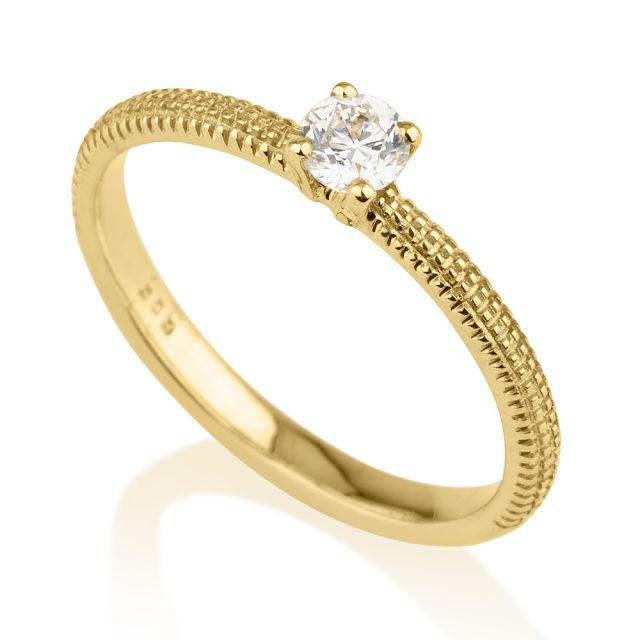 טבעת אירוסין דגם טיה