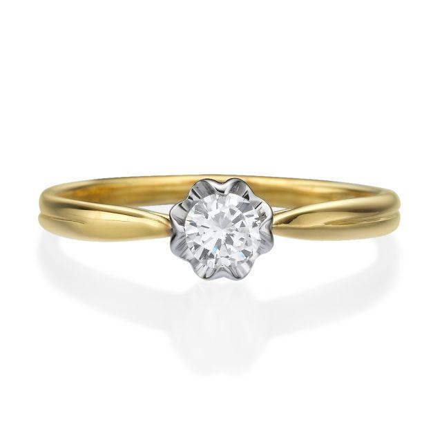טבעת אירוסין דגם הילרי