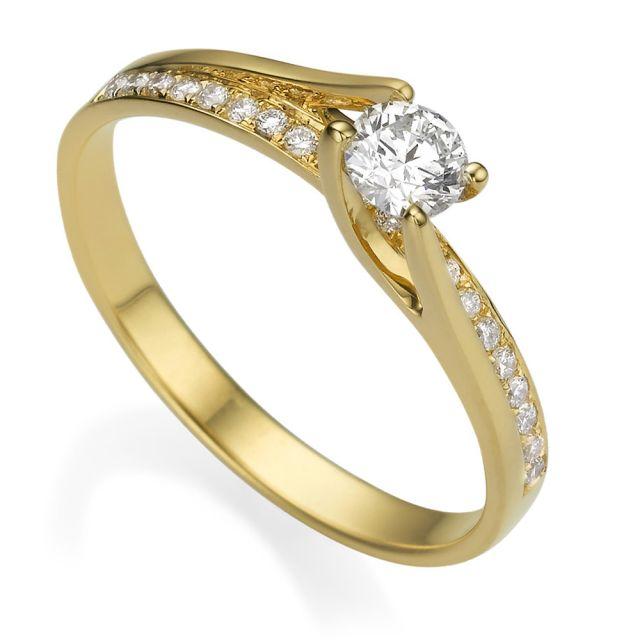 טבעת אירוסין מיוחדת רוז