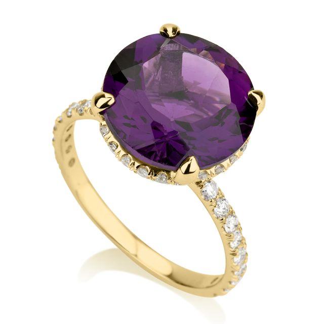 טבעת אירוסין יוקרתית אורה