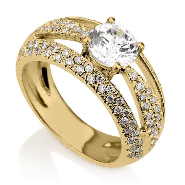 טבעת אירוסין קלאודיה