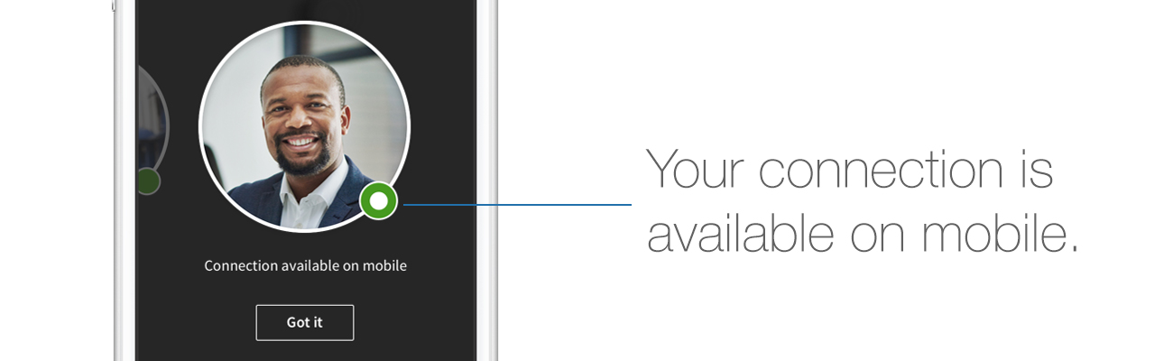 LinkedIn Active Status on Mobile