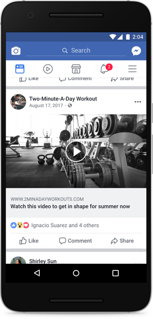 Facebook take action on Video Clickbait in News Feed