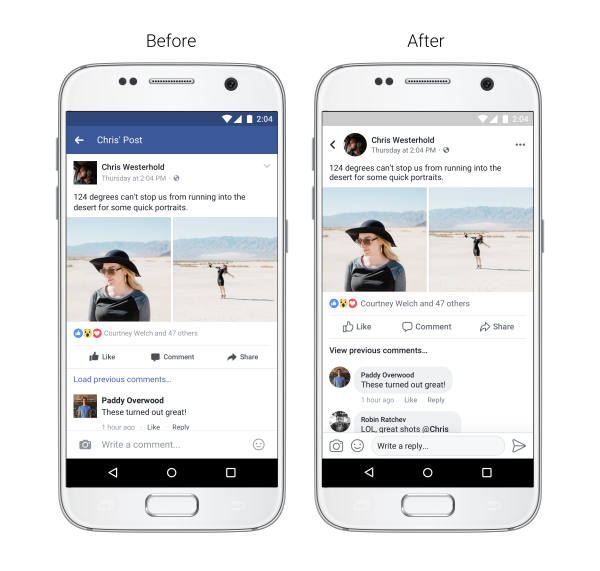 Improved News Feed navigation