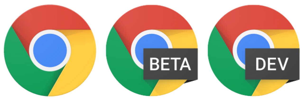 Chrome, Chrome Beta, and Chrome Dev can now be installed side by side on the same Windows computer.