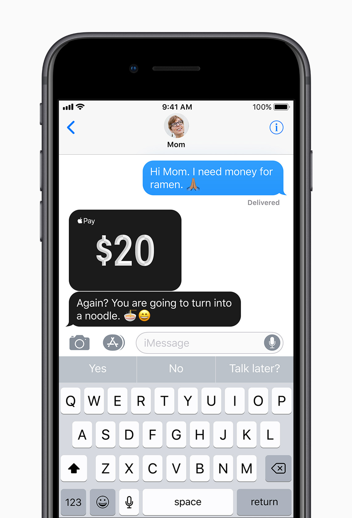 iOS 11 Apple Pay in Messages, Siri