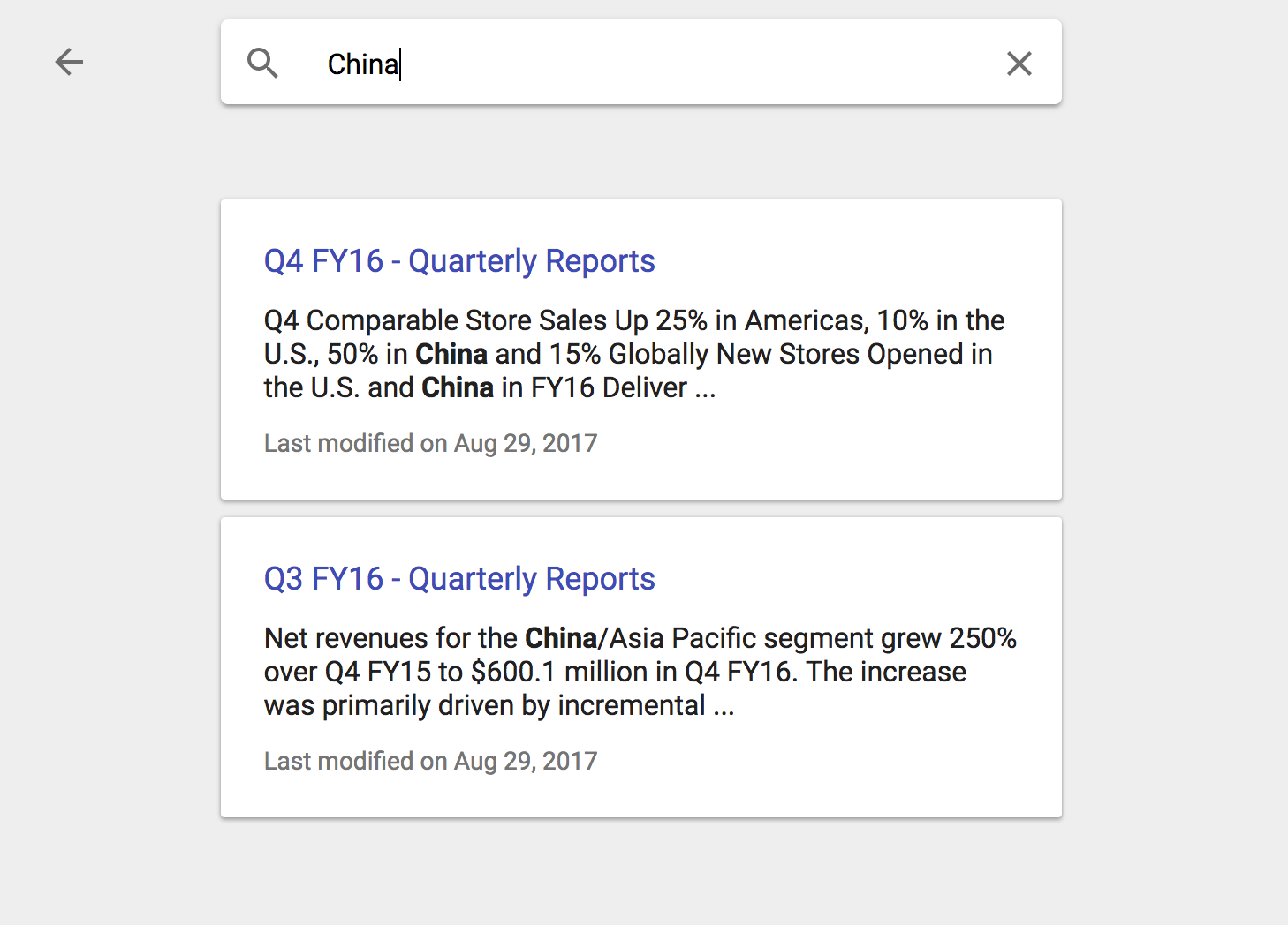 Google Sites Search