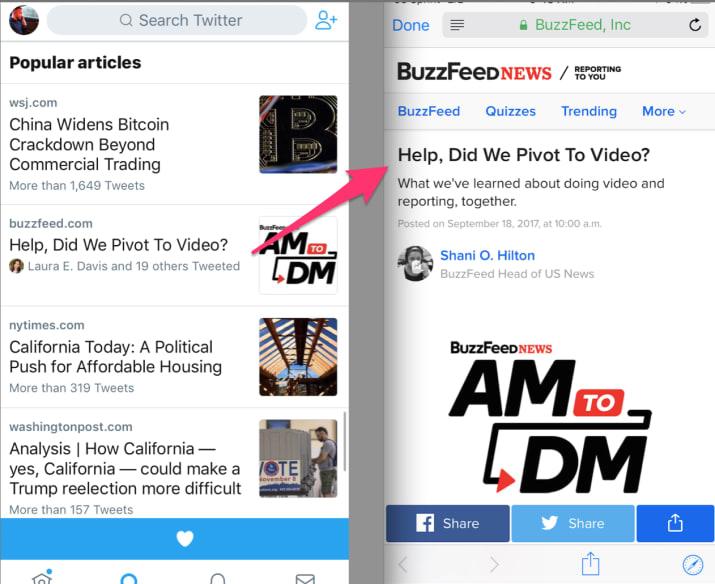 Twitter Popluar Articles