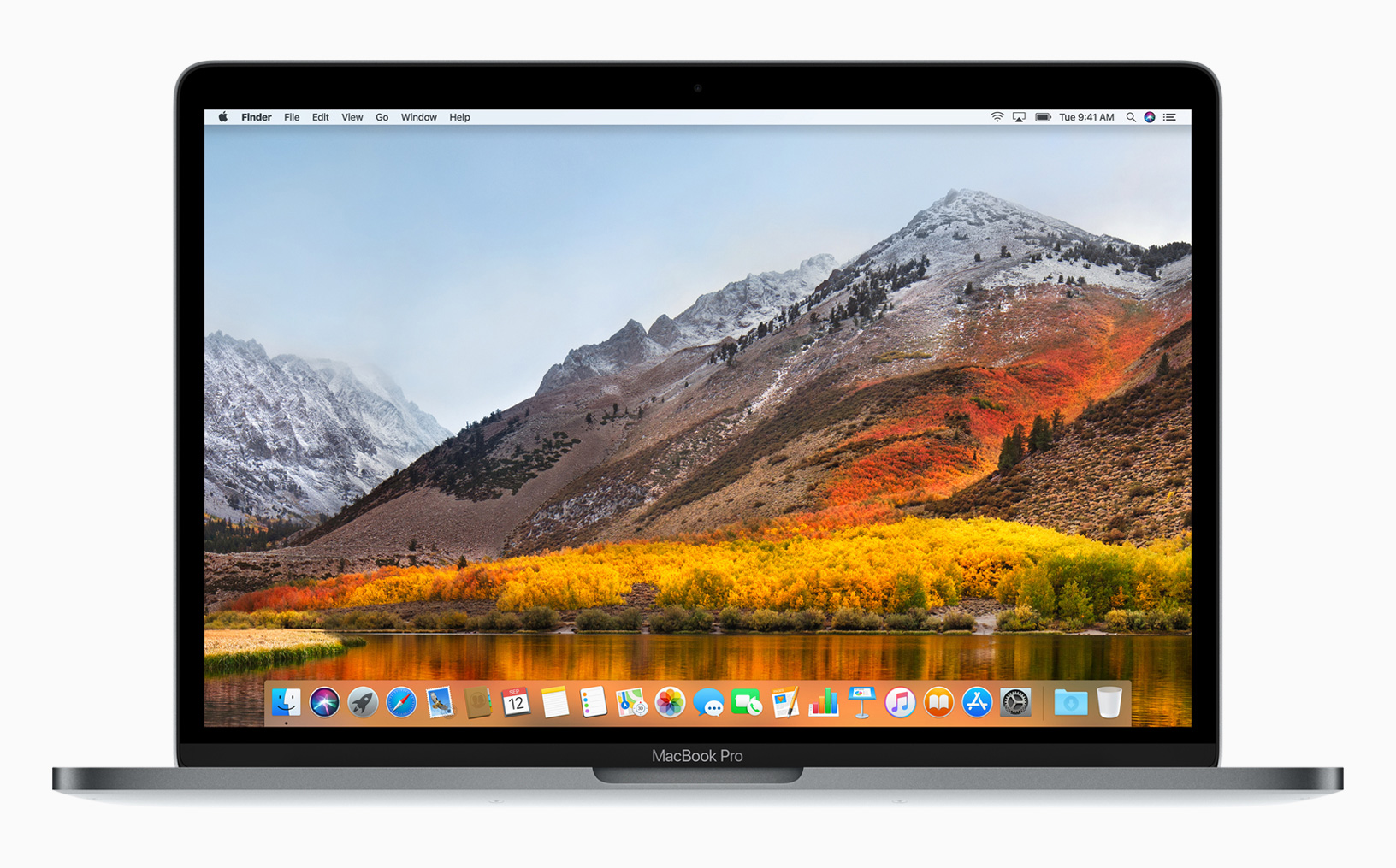 macOS High Sierra Desktop Hero