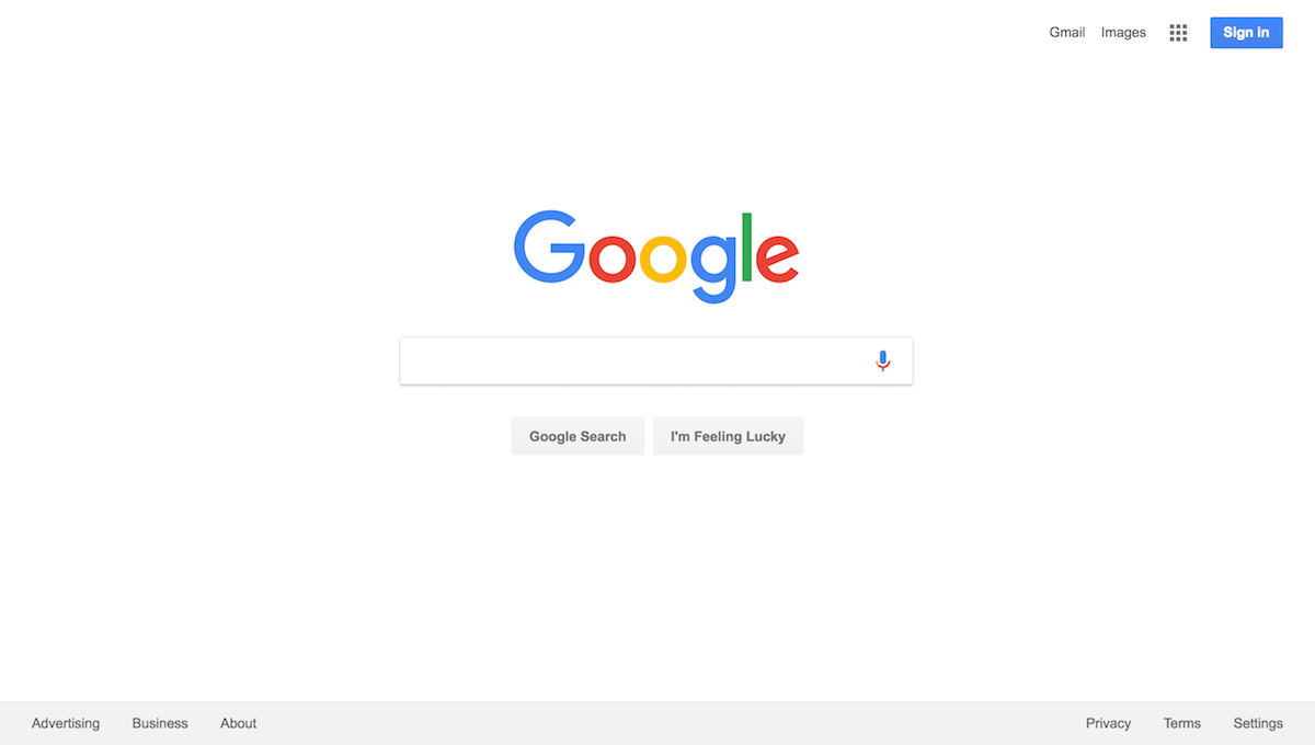 Google Web Search Hero