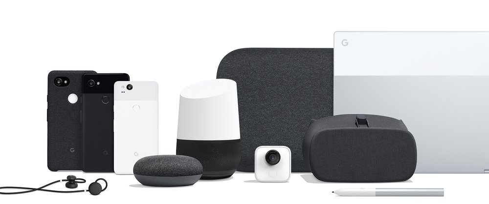 2017 Lineup of Google Products