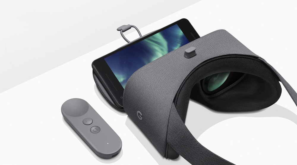 pixel 2 and Daydream View headsets