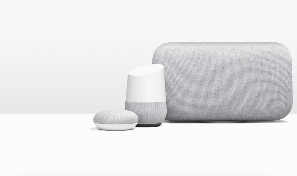 Google Home Mini and Google Home Max