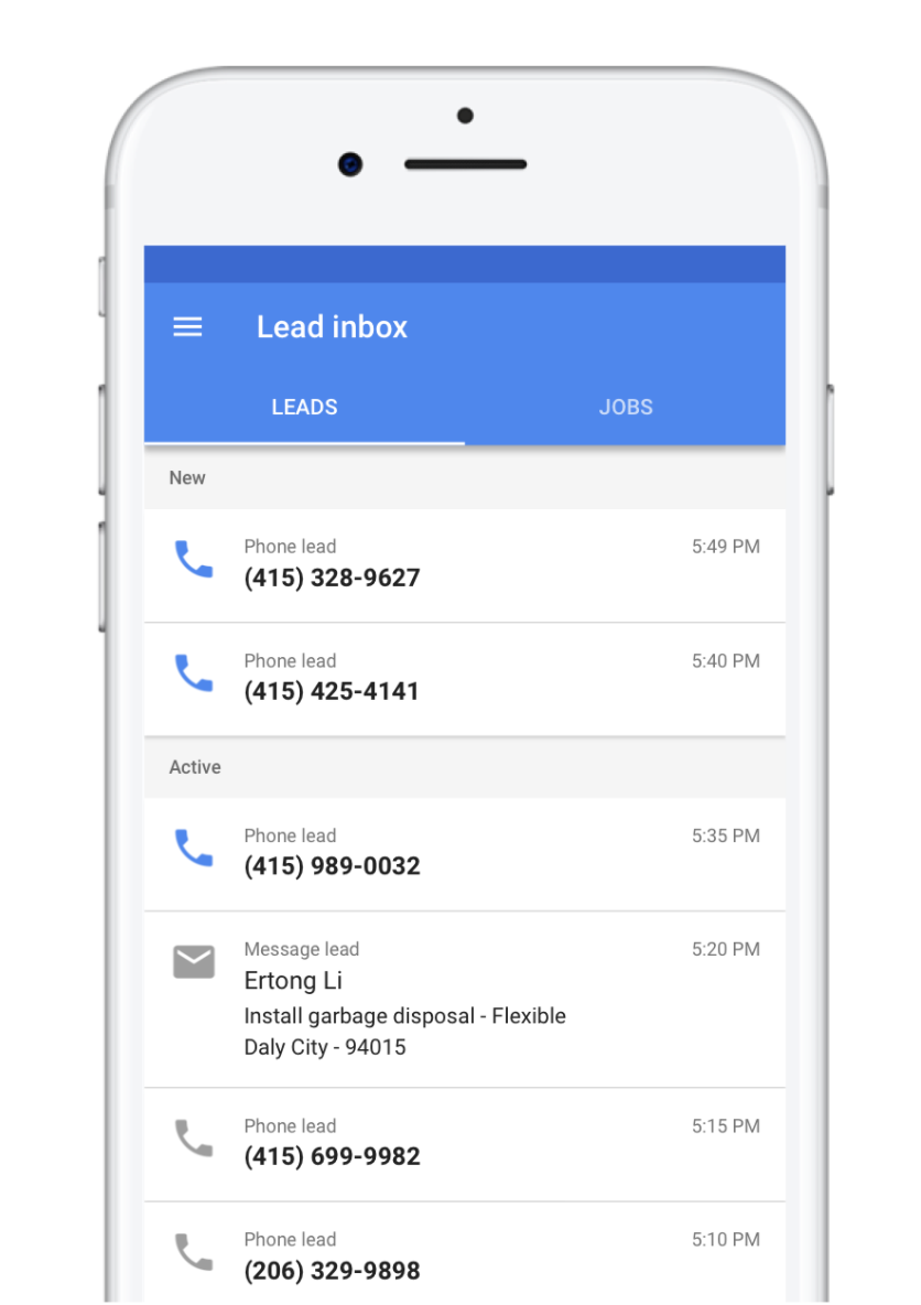 Local Services by Google Mobile app