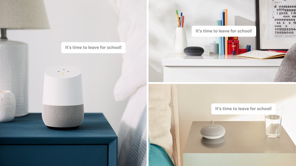 Google Assistant Message Broadcasting