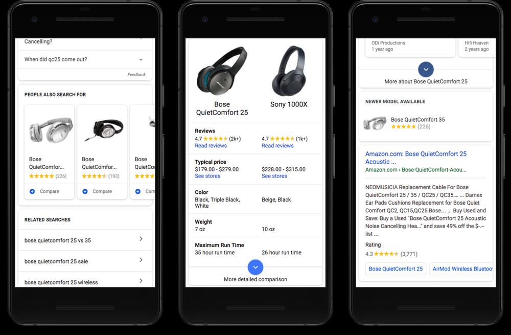 New Google Mobile Shopping Tech Gadet Label