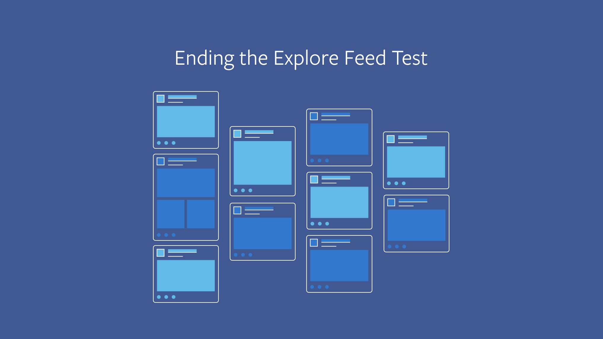 Facebook Ends Explore Feed