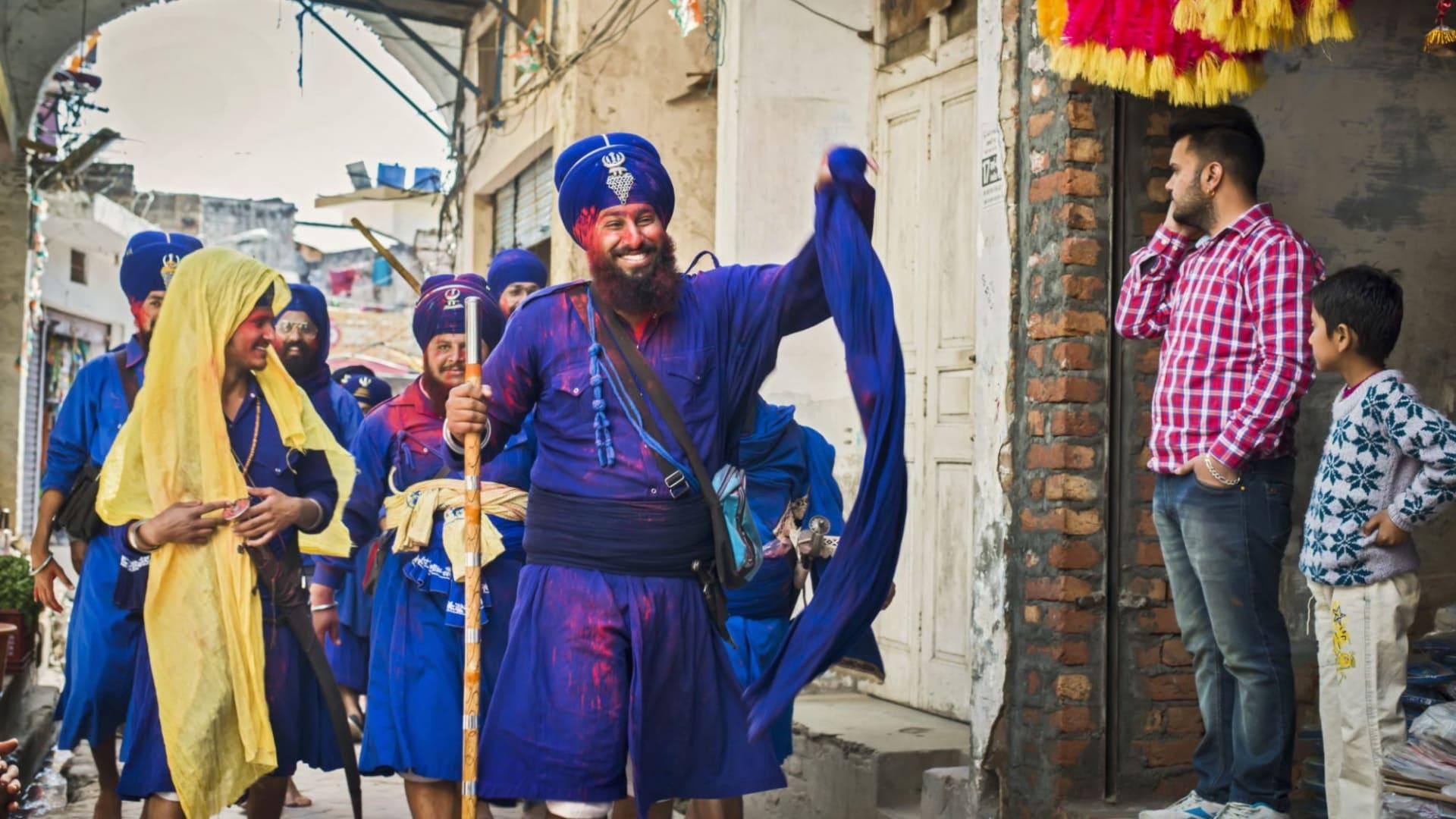 Celebrate The Sikh Festival Hola Mohalla