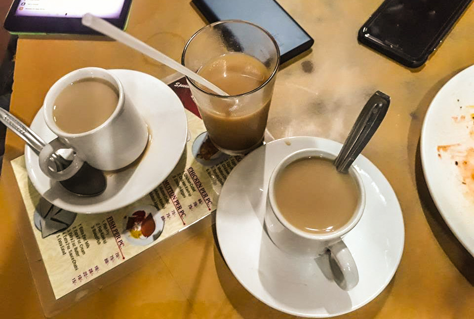 Tea at The Indian Coffee House