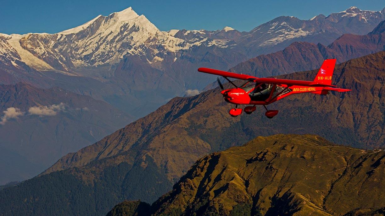 Peaks of Annapurna and Macchapuchhre