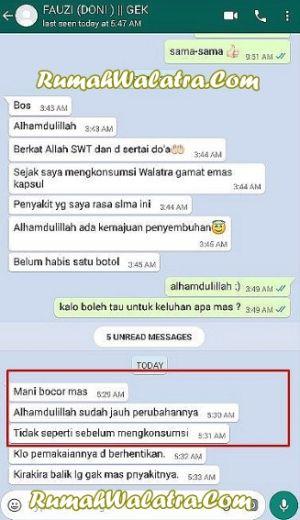 Obat Katup Air Mani Bocor