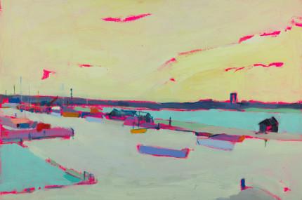 High Tide Walberswick Harbour